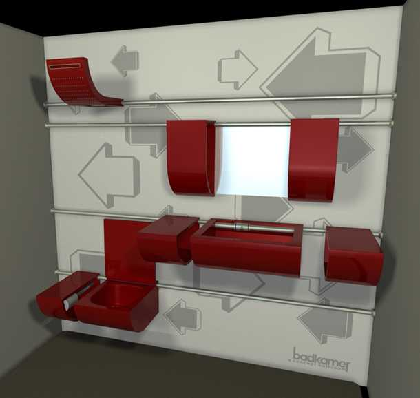 Badkamer sliding bathroom