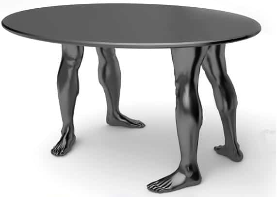 Samal design human table