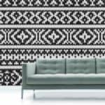 Knitted Room Wallpaper by Surface View