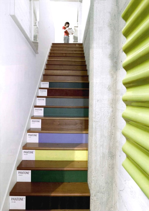 Mid week pinspiration stylish stairs the design sheppard - Huis trap ...