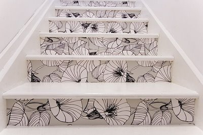 Patterned Stairs via imgspark