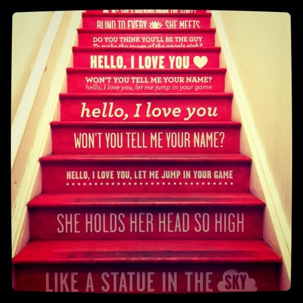 Stairs via Kate Spade New York