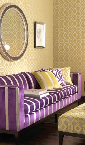 Purple And Yellow Room colour psychology: using yellow in interiors - the design sheppard