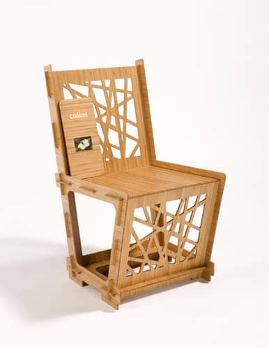 Colias Chair from the Mansouri Collection