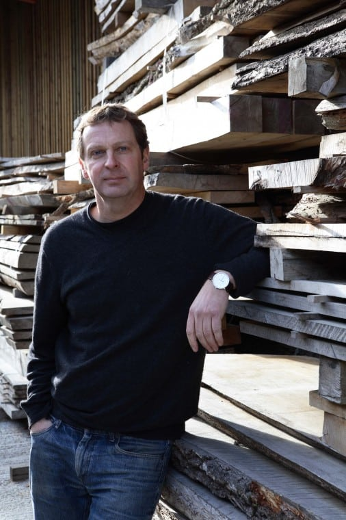Sean Sutcliffe, co-founder of Benchmark Furniture