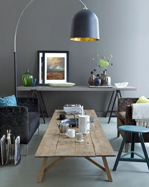Grey in interiors - lounge
