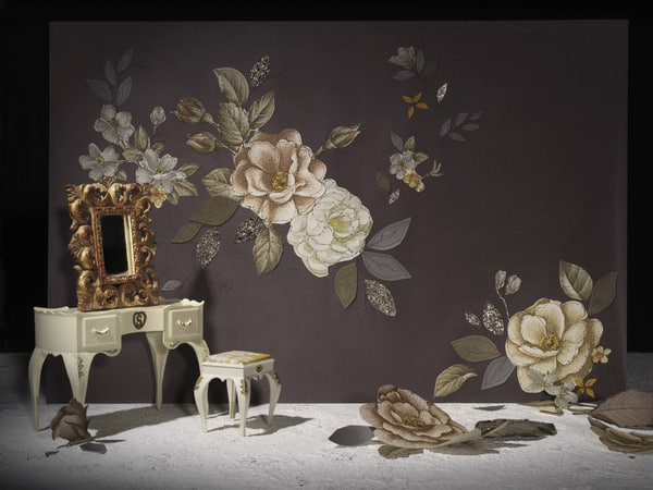 Midnight Garden wallpaper by Claire Coles