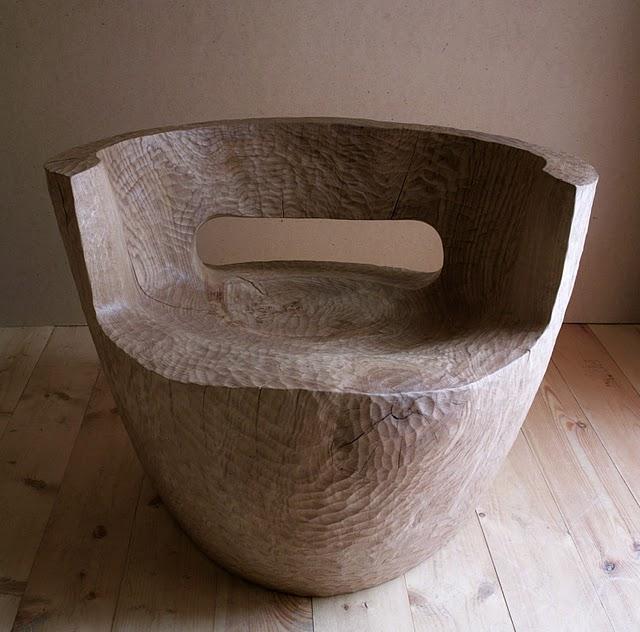Dead wood chair by Denis Milovanov