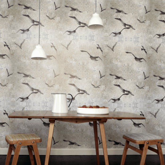 Flight Wallpaper by Louise Body