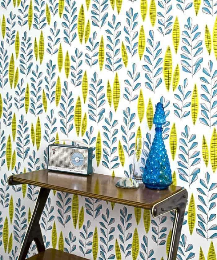 Garden City Wallpaper in Bustle by MissPrint