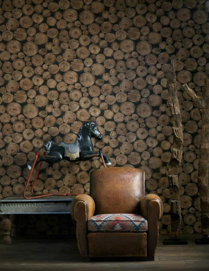 Lumberjack Wallpaper by Andrew Martin