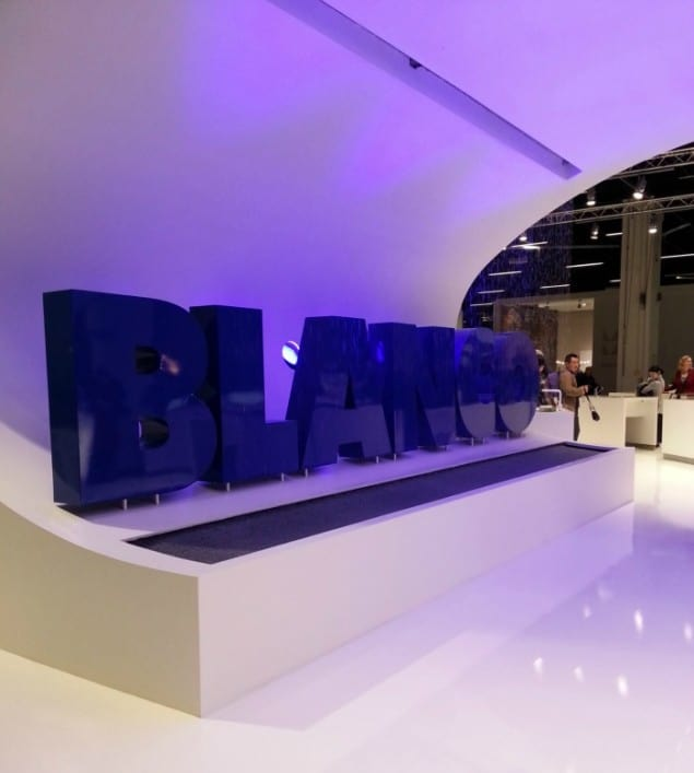 Blanco's stand at imm Cologne 2013