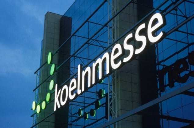 Koelnmesse Entrance East, Cologne Germany