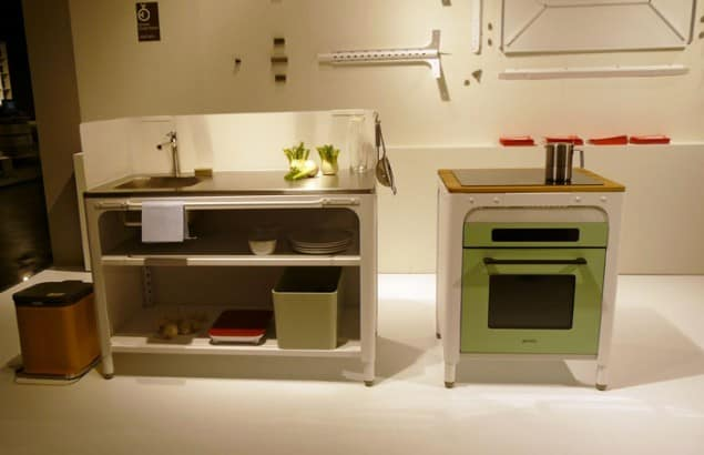 Naber Concept Kitchen at imm cologne 2013