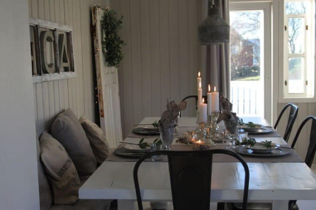 Scandinavian Interior - Janne Synnove's Home Dining Room