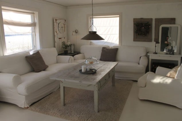 Scandinavian Interior - Janne Synnove's Home Living Room