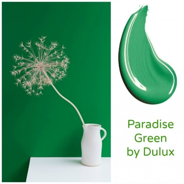 Paradise Green Paint by Dulux