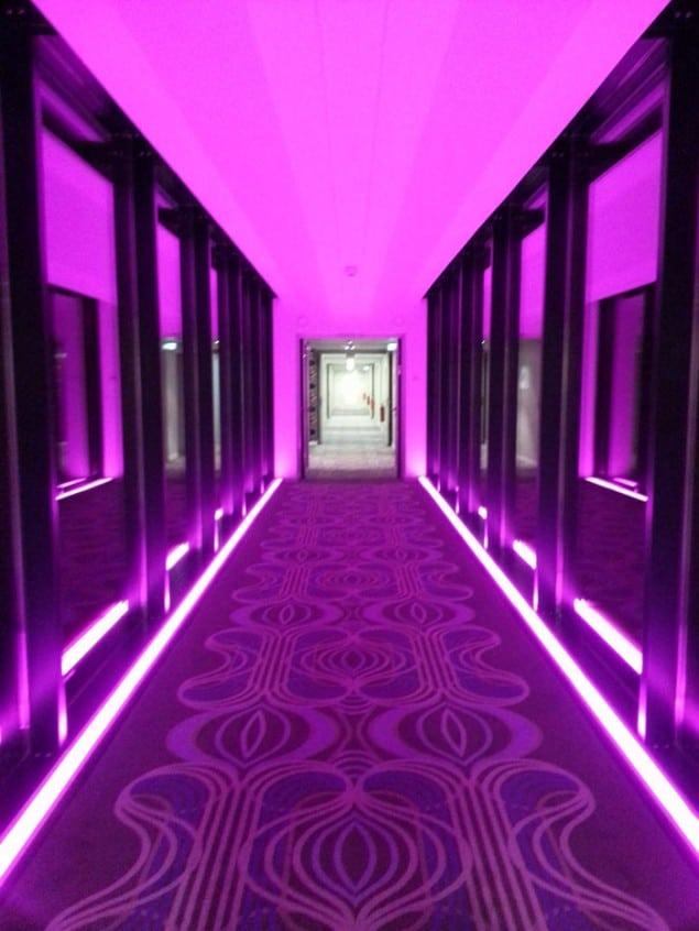 nhow hotel Berlin corridor