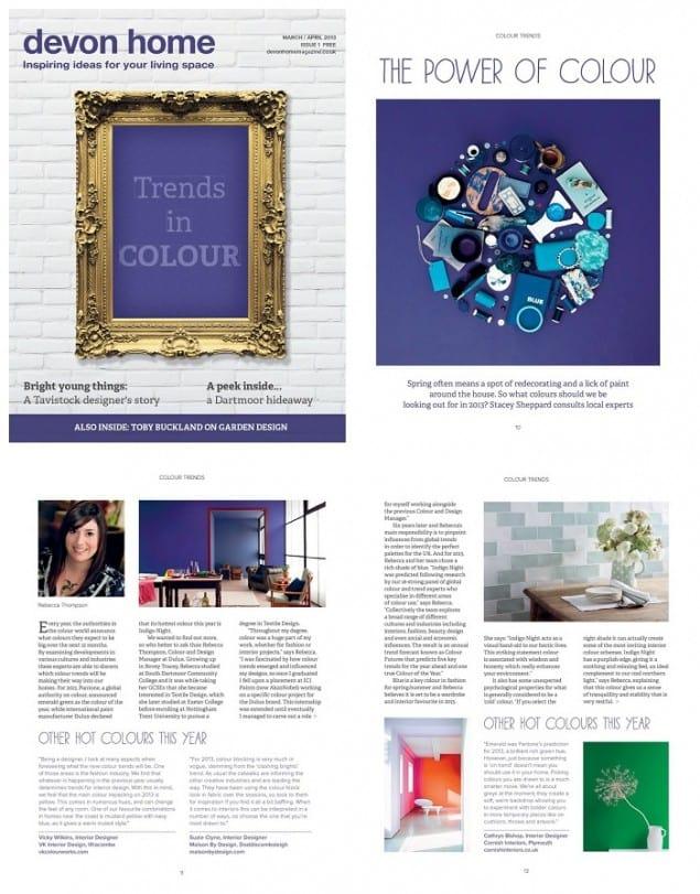 Devon Home magazine Mar_April13