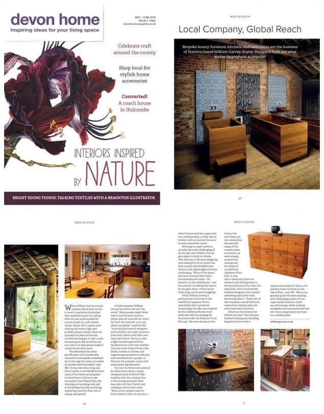 Devon Home magazine May_June13