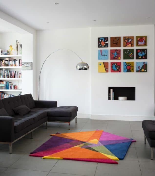 Sonya Winner Vortex Rug in situ