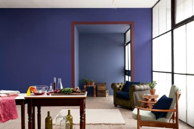 Blue Interior Design Model colour psychology: using indigo in interiors  the design sheppard