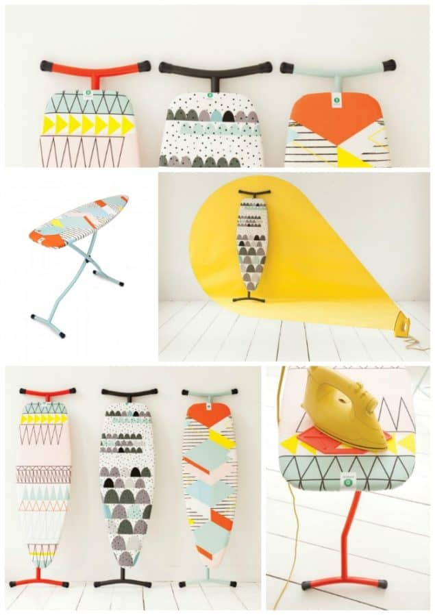 Geometric Ironing Board Covers by Brabantia