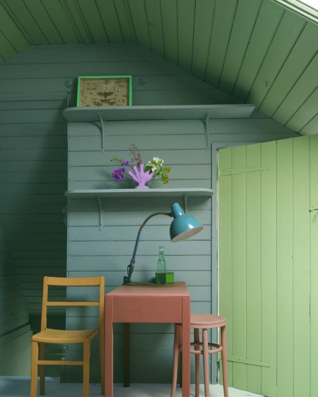Decorating Tips From Farrow And Ball The Design Sheppard - Calke green farrow and ball