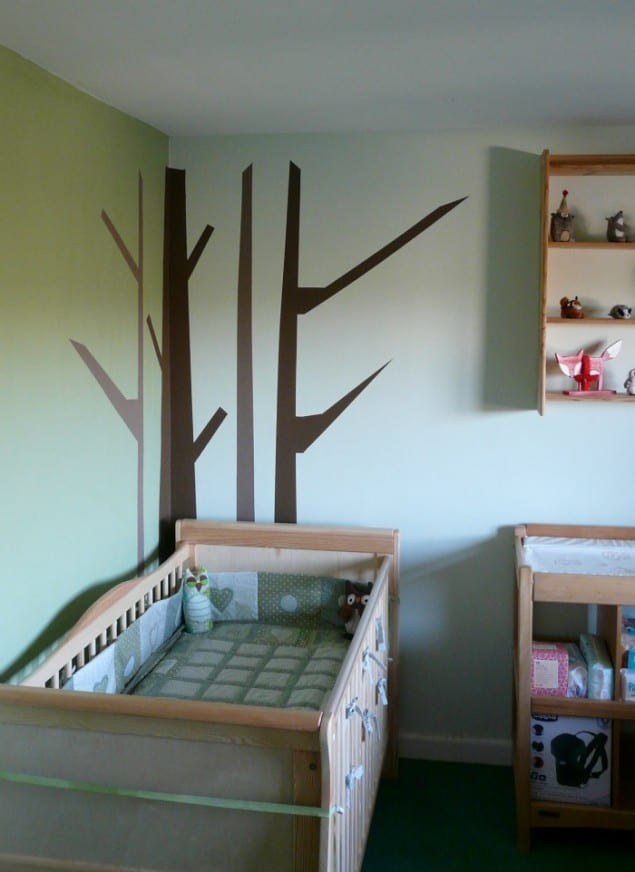 Woodland Nursery in progress