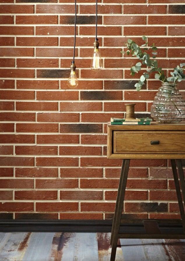 2014 tiling trends from topps tiles the design sheppard brick effect tiles  from topps tiles marialoaizafo