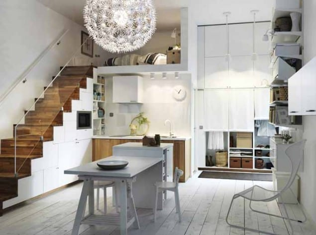 White Metod Kitchen By Ikea