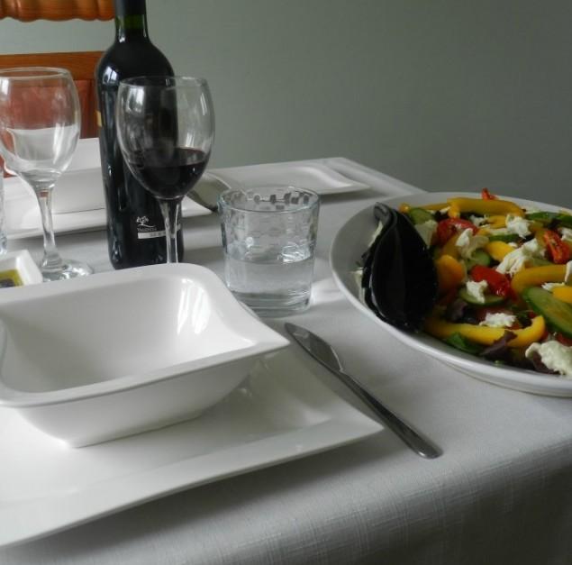 Dunelm Mill Hotel Chelsea Dinner set
