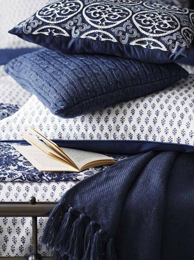 Sainsburys AW14 Indigo Bedroom Textiles
