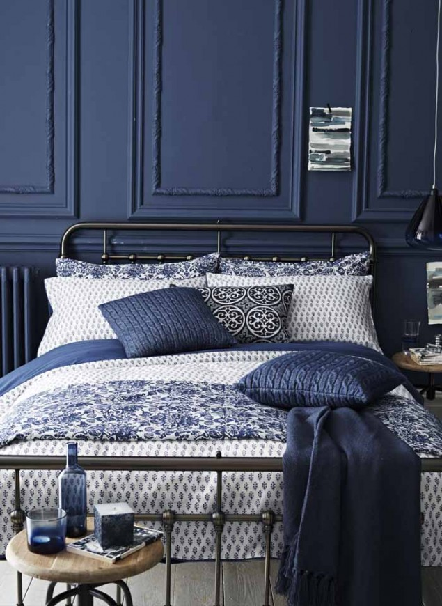 Sainsburys Aw14 Indigo Bedroom