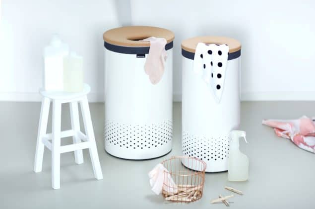 Brabantia Laundry Bin with Cork Lid