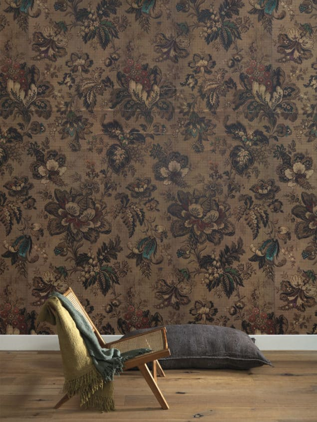 Mr & Mrs Vintage Big Pattern Bogor Wallpaper from NLXL