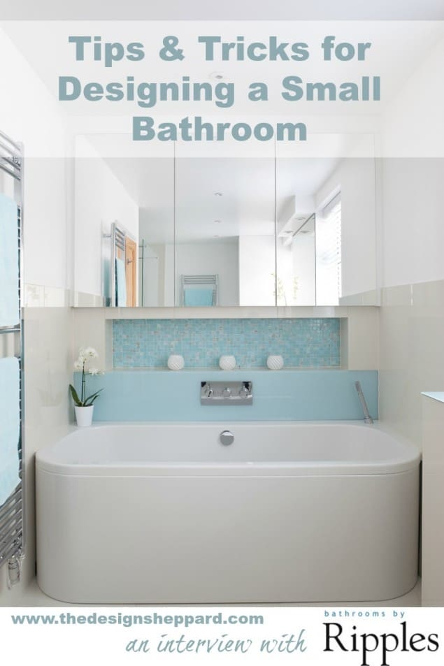 Bathroom Design Tips tips & tricks for designing a small bathroom - the design sheppard