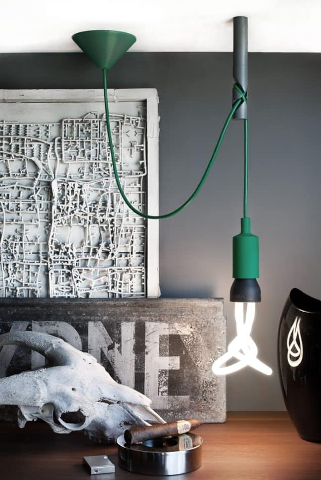 Little Bishop Ceiling Hook for Cable Hung Pendant Lights