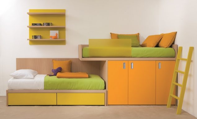 Bedroom furniture for kids by dear kids the design sheppard - Lits superposes enfants ...