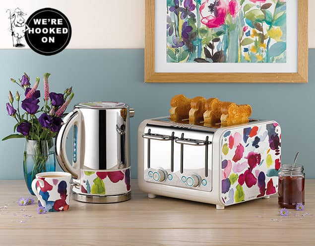 Dualit Architect Toaster & Kettle Bluebelllgray