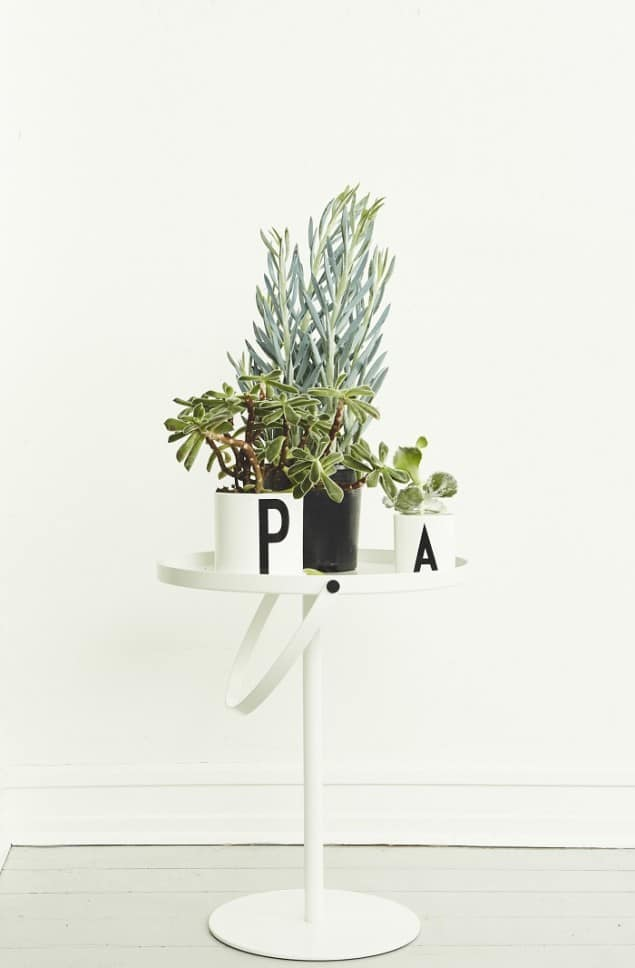 typographic plant pots from design letters friends the. Black Bedroom Furniture Sets. Home Design Ideas