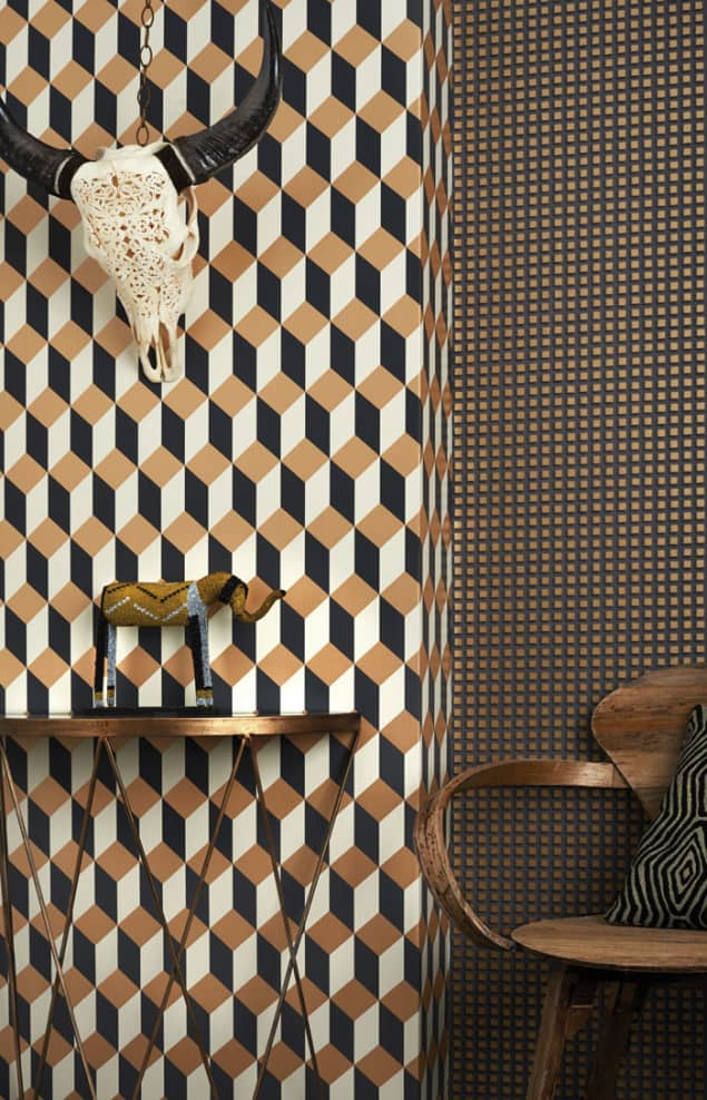 Geometric ii wallpaper by cole son the design sheppard - Cole son ...