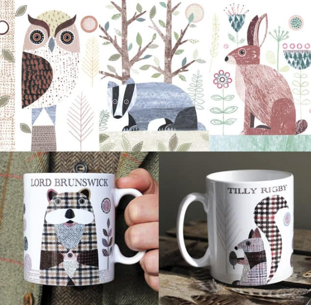 Mugs by Simon Hart