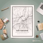 Mapiful : Printed Map Posters of your Favourite Place