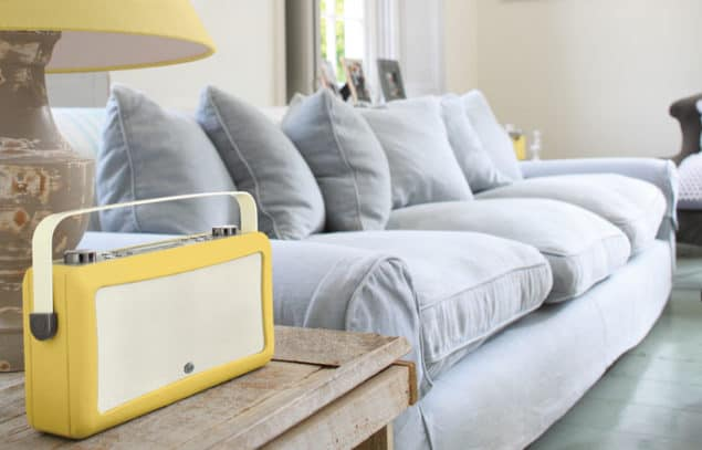 View Quest Hepburn MKII DAB Radio in mustard