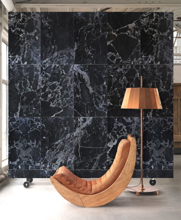 BLACK MARBLE WALLPAPER BY PIET HEIN EEK for NLXL