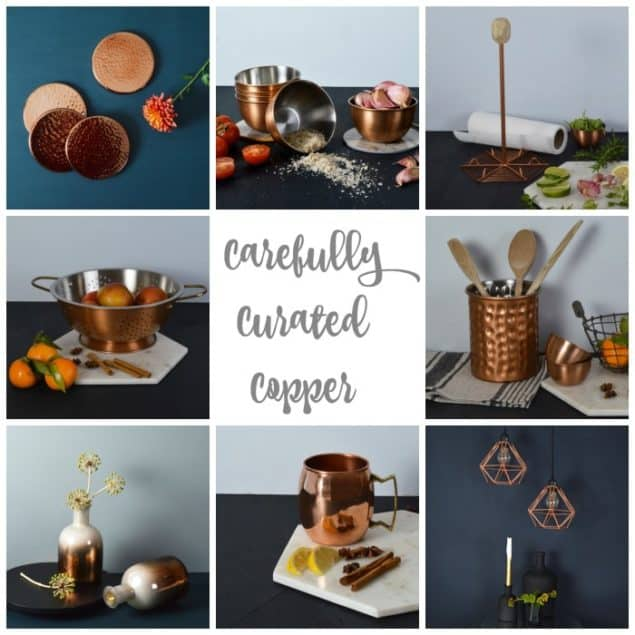 Copper Interior Accessories from Mia Fleur