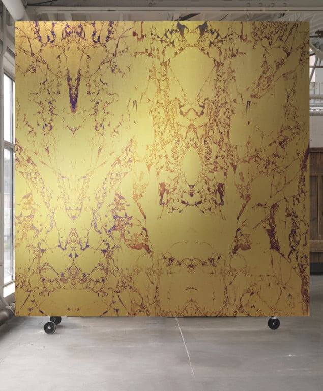 GOLD MARBLE WALLPAPER BY PIET HEIN EEK for NLXL