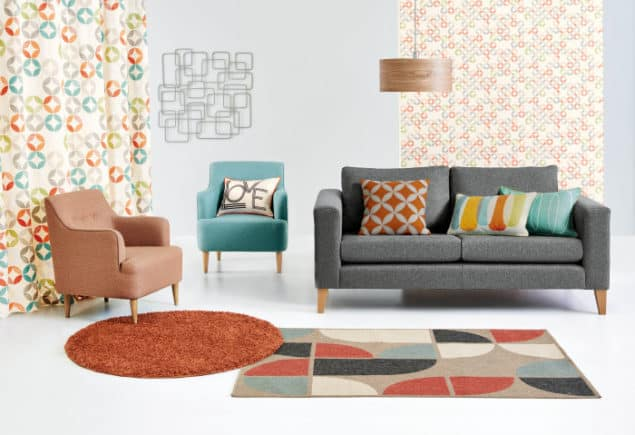 The Studio Collection by Next features bold prints, bright colours and has a retro feel