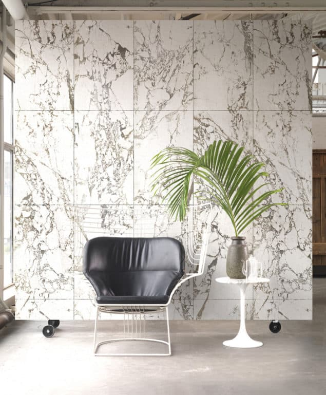 WHITE MARBLE WALLPAPER BY PIET HEIN EEK for NLXL